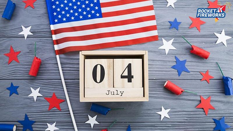 Make 4th of July Big Celebration with Fireworks
