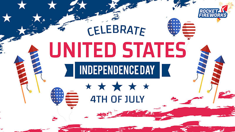 Celebrate Freedom(Independence Day in the United States) with Fireworks
